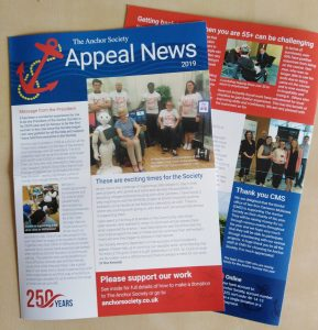 The Anchor Society News Letter